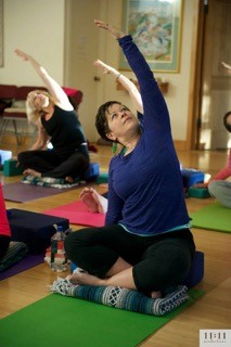 "Ann Braden started practicing yoga in the early '90's ""with my big hair-sprayed bangs.'' She has taught yoga for the past 14 years. She is registered as an E-RYT500 and is a proud member of the International Association of Yoga Therapists (IAYT), with certifications from Loyola Marymount University, YogaWorks, Yoga of the Heart and from Sherry Brourman, author of Walk Yourself Well. Her personal experience with breast cancer led her to seek specialty certifications to share yoga with others who have been touched by cancer. She has led yoga workshops, focusing on breath and movement to strengthen, stretch and tune into each individual's innate healing capacity. Her ability to create community in her classes, her kind and caring nature and her great sense of humor have made Ann a beloved yoga teacher in Los Angeles. www.lovetreeyoga.com."