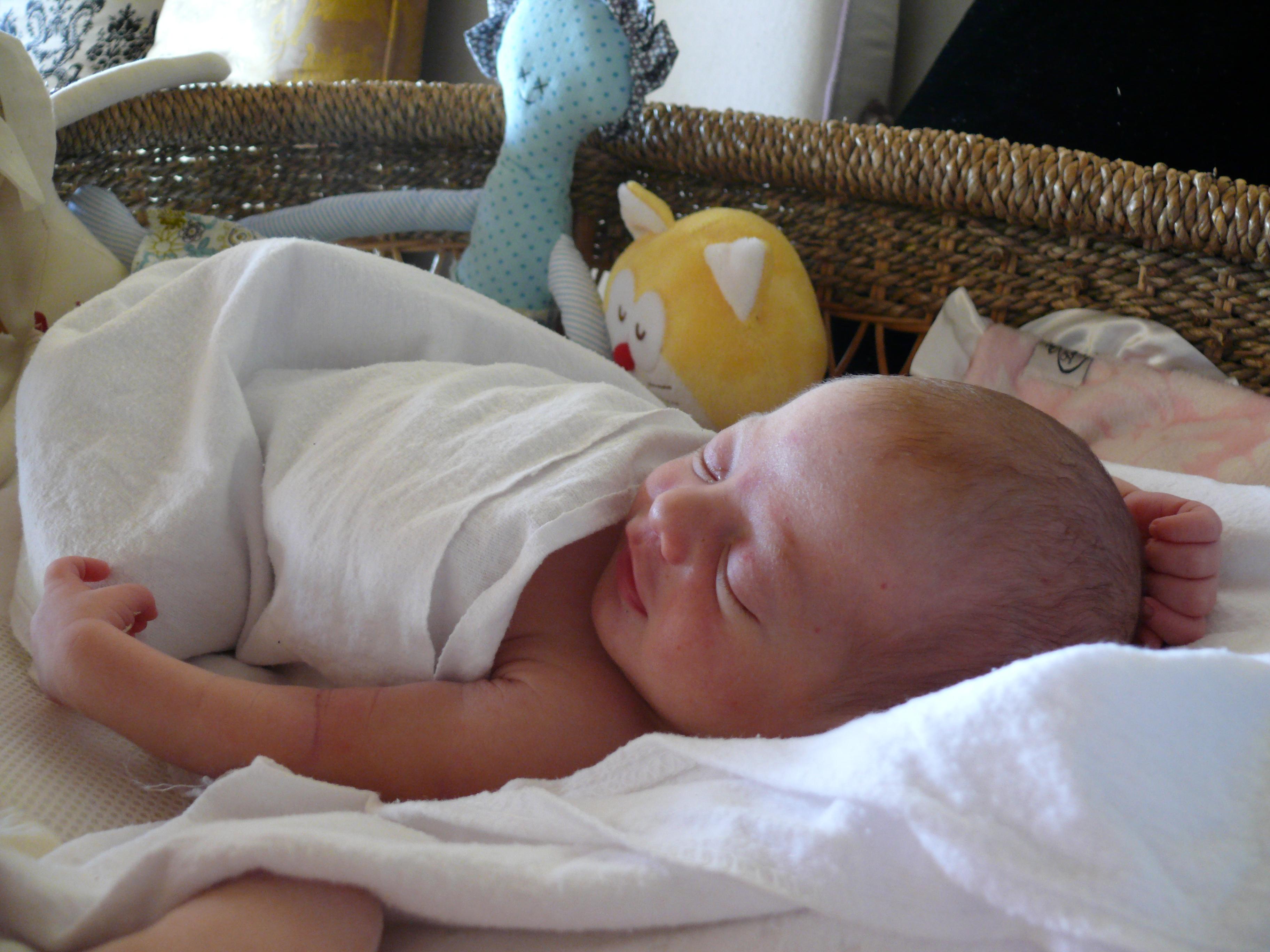 Jasmine Rue Seelig Sugerman Two Days Old